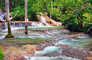 Dunns River Falls in Jamaica