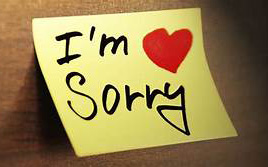 How to make a sincere apology?